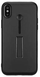 4-OK Combo pouzdro pro iPhone X, černé
