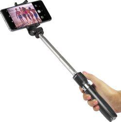 SBS Bluetooth selfie tyč se stativem a dálkovým ovládáním, černá