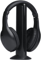 Carneo W9 černá bezdrátová sluchátka k TV