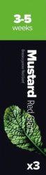 Plantui Mustard Hořčice čínská listová (3ks)