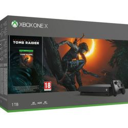 Xbox One X 1TB + Shadow of Tomb Raider