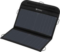 Sandberg solární nabíječka 2x USB, černá