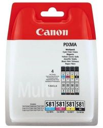 Canon INK CLI-581 C/M/Y/BK MULTI BL SEC