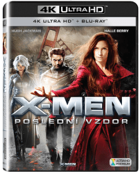 X-Men: Poslední vzdor - Blu-ray + 4K UHD film