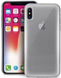 Puro Plasma pouzdro pro Apple iPhone Xs Max, transparentní