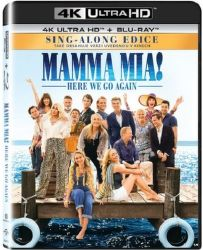 Mamma Mia! Here We Go Again - Blu-ray + 4K UHD film