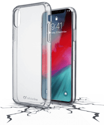 CellularLine Clear Duo zadní kryt pro Apple iPhone Xr, transparentní