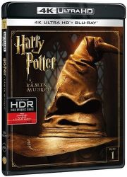 Harry Potter a Kámen mudrců - Blu-ray + 4K UHD film