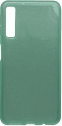 Mobilnet Crystal silikonové pouzdro pro Samsung Galaxy A7 2018, zelená