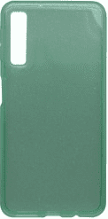 Mobilnet Crystal silikonové pouzdro pro Samsung Galaxy A7 2018, zelené