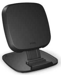 Zens Ultra fast charge 15 W stojánková bezdrátová nabíječka, černá