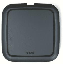 Zens Ultra fast charge 15 W bezdrátová nabíječka, černá