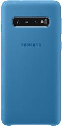 Samsung silikonové pouzdro pro Samsung Galaxy S10, modrá