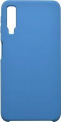 Mobilnet silikonové pouzdro pro Samsung Galaxy A7 2018, modrá