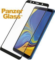 PanzerGlass tvrzené sklo pro Samsung A7 2018, černá