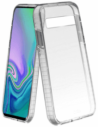 SBS Shock Impact pouzdro pro Samsung Galaxy S10+, transparentní