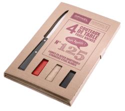 Opinel Loft N°125 příborové nože (4ks)