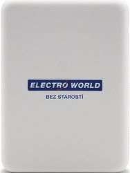 Electro World powerbanka 5000 mAh, bílá