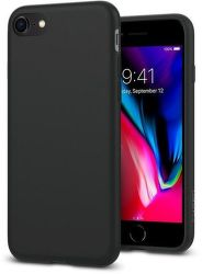 Spigen Liquid Crystal pouzdo pro iPhone 7/8, černá