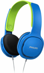 Philips SHK2000 modro-zelené dětské sluchátka