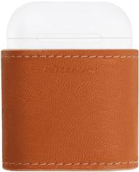 Nillkin Apple AirPods Mate hnědé bezdrátové nabíjecí pouzdro