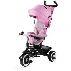 KINDERKRAFT Aston růžová, Dětská tříkolka
