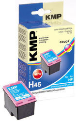 KMP H45 komp. recykl. náplň CC644EE