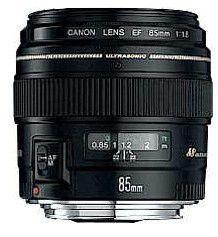 Canon EF 85mm f/1.8USM – objektiv