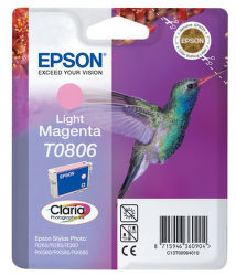 EPSON T0806 light magenta (kolibrík) - atrament