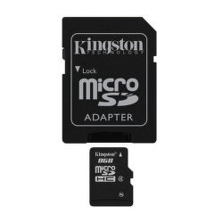Kingston 8 GB Micro SDHC Card Class 4 - paměťová karta