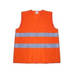 Reflexní vesta oranž.