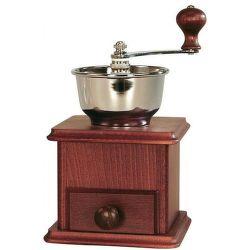 Lodos tmavý - ruční mlýnek na kávu