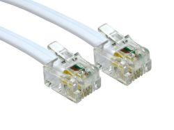 Smarton tel. kabel prodlužovací, 2m (bílý)