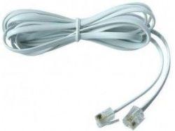 Smarton kabel tel. prodlužovací, 6m (bílý)