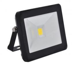 Ecolite LED reflektor,COB,50W,IP65,4100K (černý)