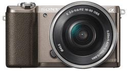 Sony Alpha 5100 + 16–50 mm F3,5–5,6 OSS (hnědý)