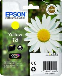 EPSON T1804 18 yellow (sedmokráska) - atrament