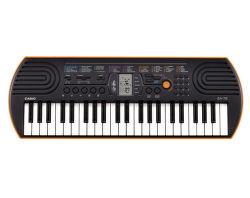 Casio SA 76 (černo-oranžové)