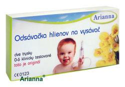 Arianna Odsávačka nosních hlenů pro děti, připojitelná k vysavači