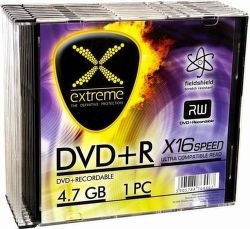 Esperanza 1173 Extreme DVD+R 4,7GB 16x, slim jewel, 10ks