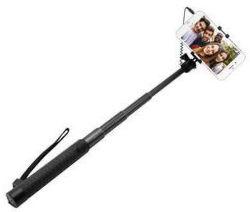 Fixed hliníková selfie tyč s 3,5 mm konektorem, černá