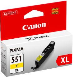 Canon CLI-551Y XL yellow - inkoustová náplň