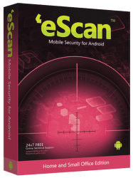 eScan Mobile-Virus Security pro Android 1/12, ES-AND-MS1-1Y