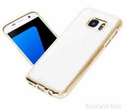 Aligator púzdro pre Samsung Galaxy S6 Edge (zlatá)