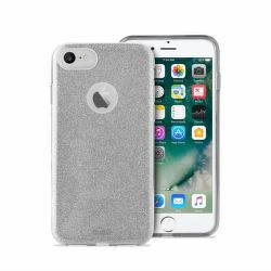 PURO Shine kryt pro Apple iPhone 7 (stříbrný)