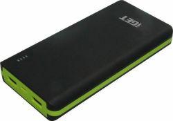 iGET Power B-20000 powerbanka, černo-zelená