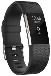 Fitbit Charge 2 L černo stříbrný