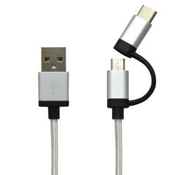 MOBILNET USB type C, Kábel USB/T C 2v1,