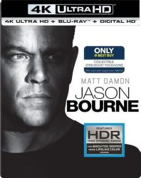 Jason Bourne - 2xBD (Blu-ray + 4K UHD film)
