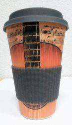 Eco Bamboo Cup Guitar termo hrnek (400ml)
